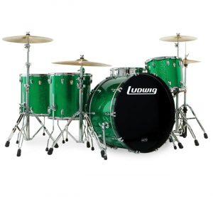 euromusica_Bateria Acústica USA Green - Ludwig