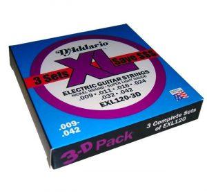euromusica_Encordoamento EXL-120-3D PACK - Daddario