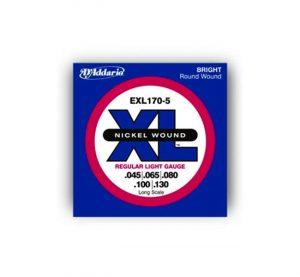 euromusica_Encordoamento EXL-170-5 - Daddario