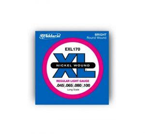 euromusica_Encordoamento EXL-170 - Daddario