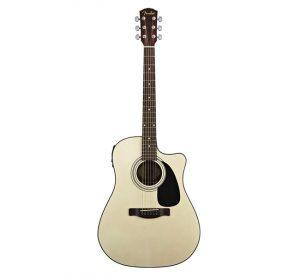 euromusica_Guitarra Acústica CD60CE BK - Fender
