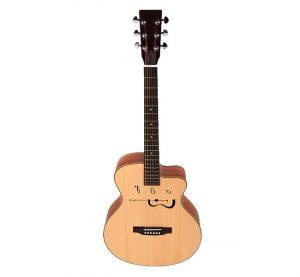 euromusica_Guitarra Acústica EA-100 CW - APC