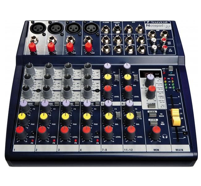 euromusica_Mesa de Mistura NotePad 124 FX - Soundcraft