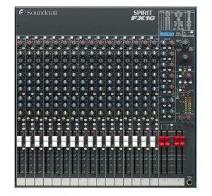 euromusica_Mesa de Mistura Spirit FX16 - Soundcraft