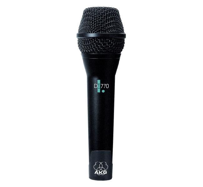 euromusica_Microfone D-770 - AKG